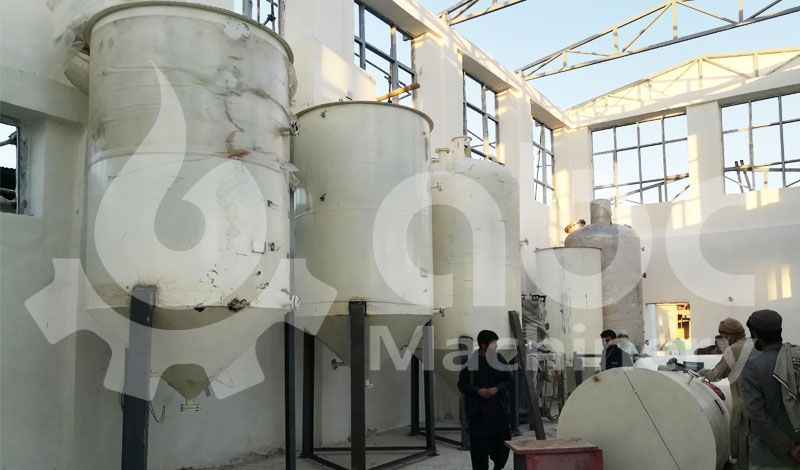 cottonseed oil refinery production plant installation
