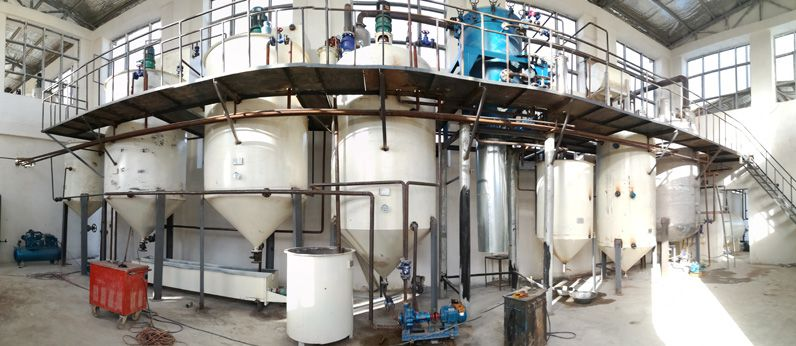 10tpd small cottonseed oil refinery plant setup in Afghanistan
