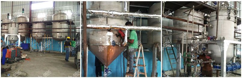 10 tpd soybean oil refining plant in Jamaica