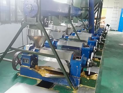 >20TPD Oil Pressing Plant
