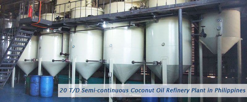 20 tpd coconut oil production plant setup in Philippines