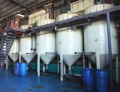 20TPD Edible Coconut Oil Refinery Production Plant in Philippines