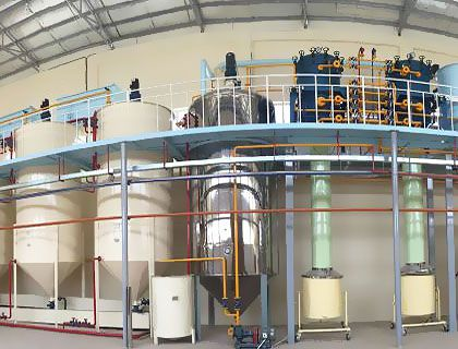 30TPD Cotton Seed Oil Refinery & Fractionation Plant in Afghanistan