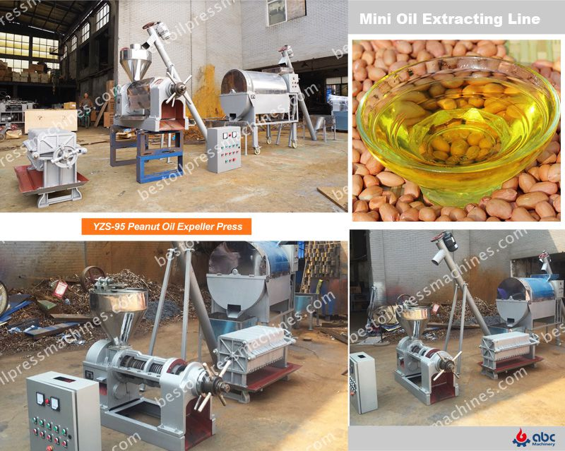 advantages of peanut oil extracting line
