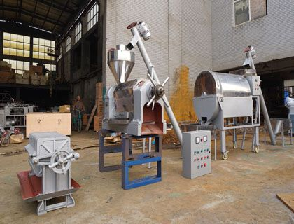 6TPD Small Palm Kernel Oil Extraction Assembly Unit to Nigeria