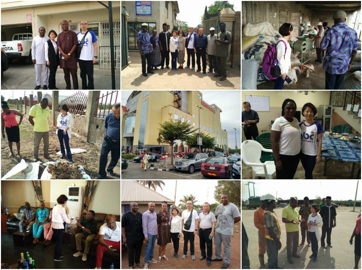 ABC Machinery visited Nigeria for oil making business cooperation