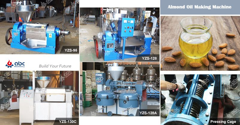 almond  oil making machine for sales