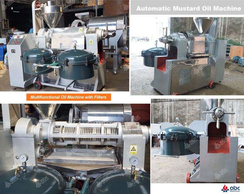 advantages of automatic mustard oil expeller machine in details