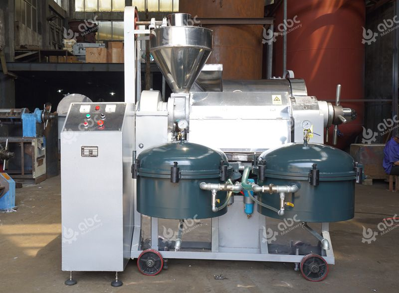 automatic sacha inchi oil extraction machine
