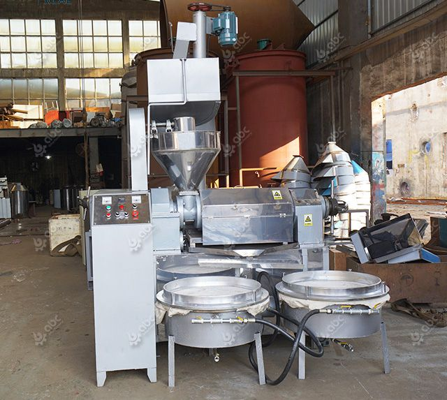 automatic sunflower oil extraction machine with vacuum filters