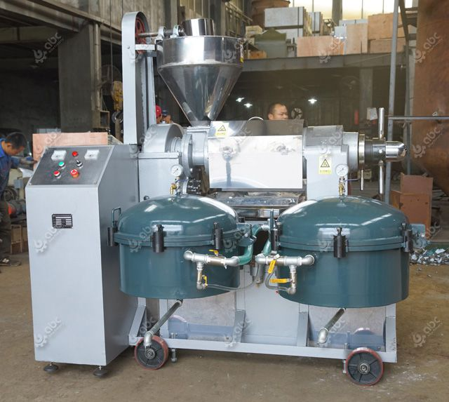 automatic oil extraction machine with air pressure filters