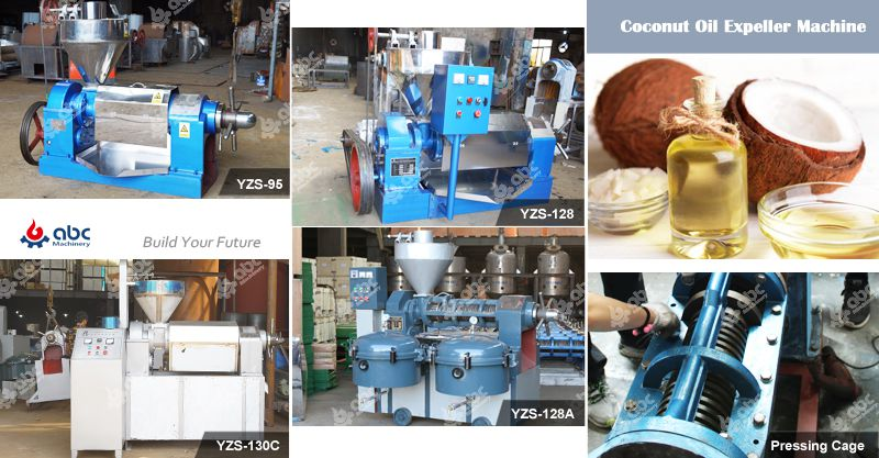 coconut oil expeller machinery for Philippines market