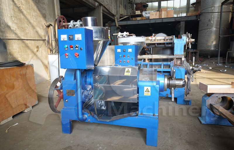 coconut oil extraction machine with electric cabinet