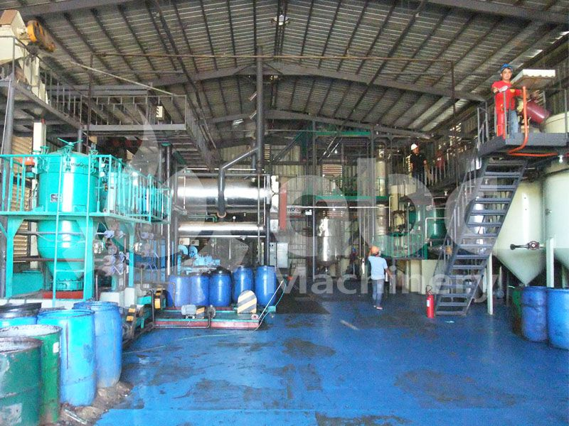 complete coconut oil production plant in Philippines