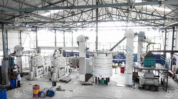 Complete Vegetable Oil Mill Plant