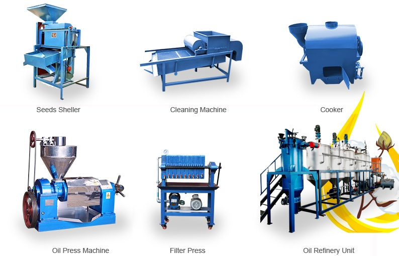 small cotton seed oil mill machinery at factory price