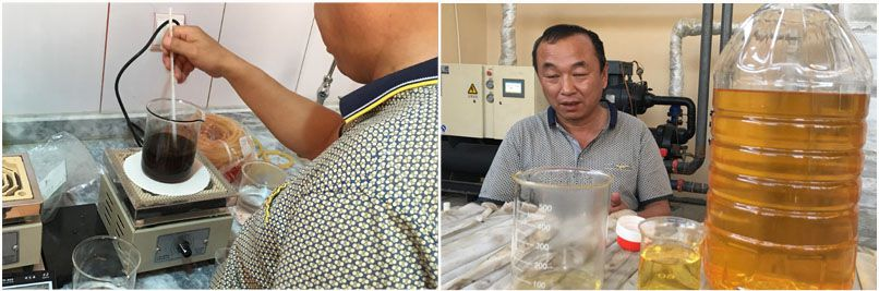 cotton seed oil refining testing