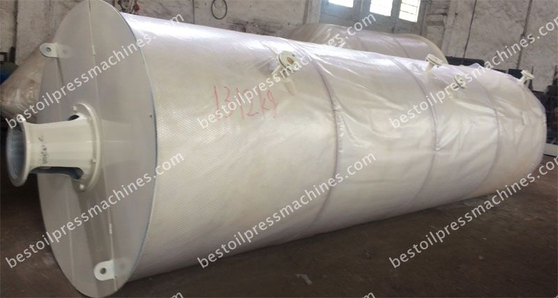 cystallizer for cotton seed oil fractionation