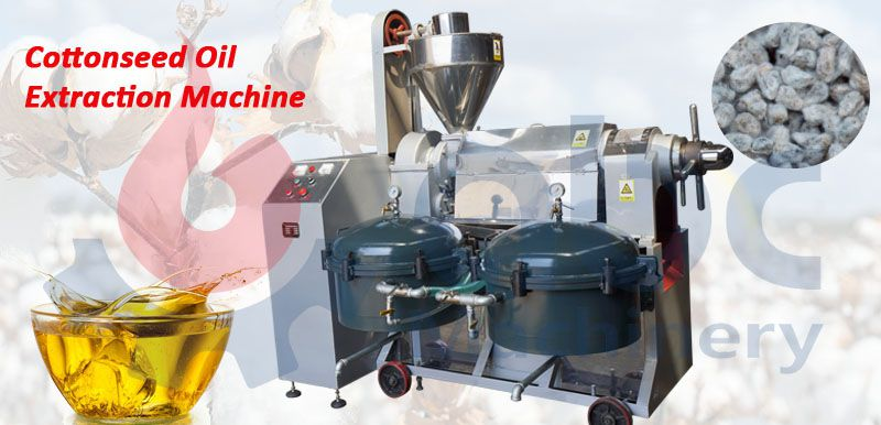 integrated cottonseed oil extraction machine for sale