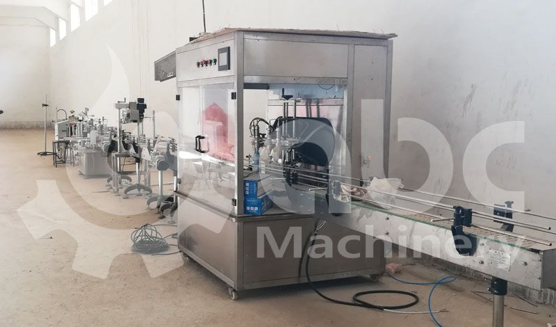 cottonseed oil filling machine