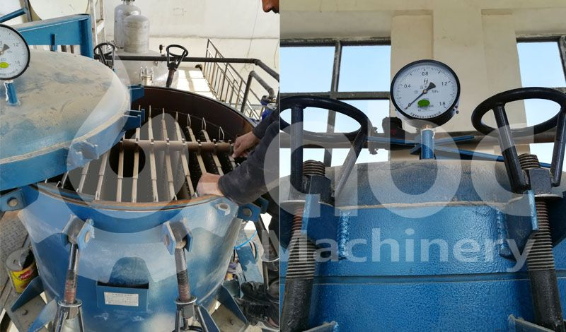 cottonseed oil refinery filter equipment