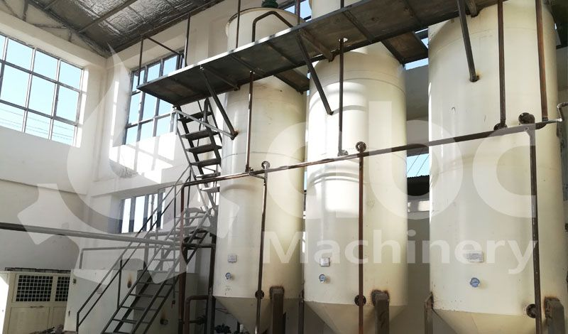 10tpd cottonseed oil fractionation line