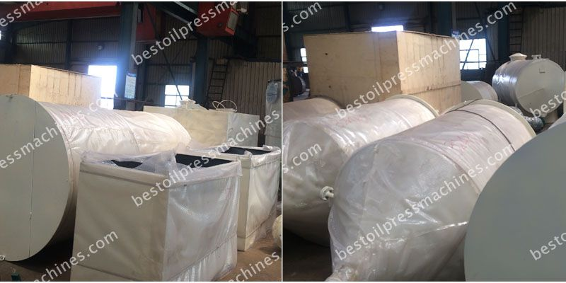 cotton seed oil tanks and pots