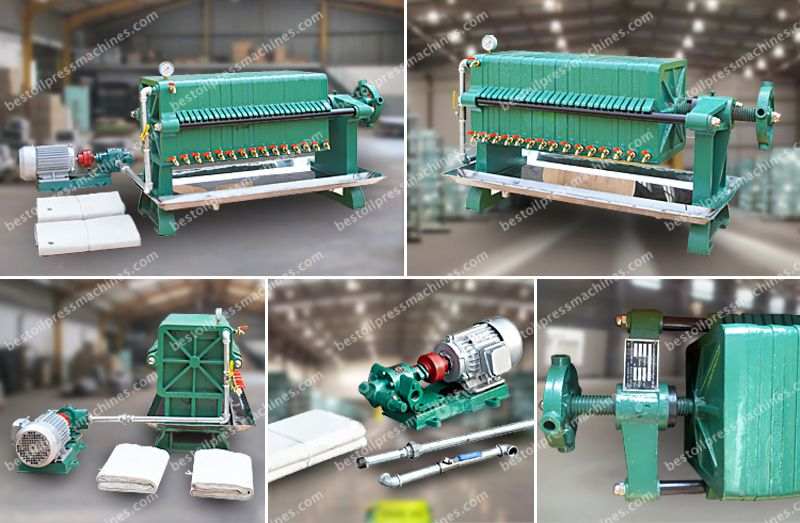 edible oil filter machine for sales at factory price