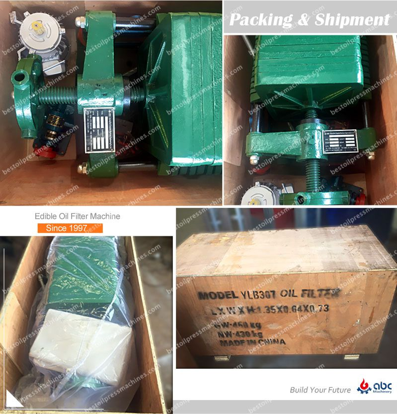 packing of oil filter machine