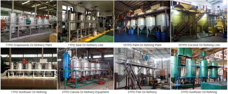 ABC Machinery edible oil refining projects