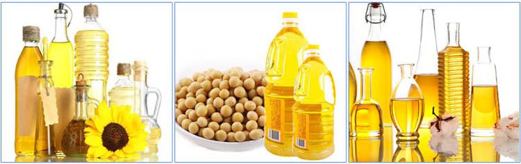 edible oils produced by sunflower oil pressing line