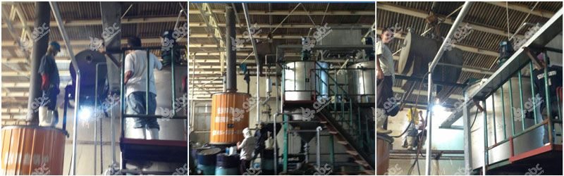 small fish oil refining plant installtion