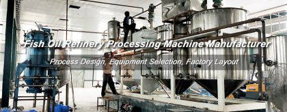Fish Oil Processing Machines - Oil Refining