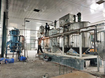 3TPD Fish Oil Refining Equipment in Bangladesh