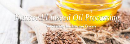How to Make Flaxseed Oil by Oil Press Machine?