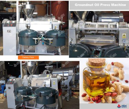 Groundnut Oil Press Machine