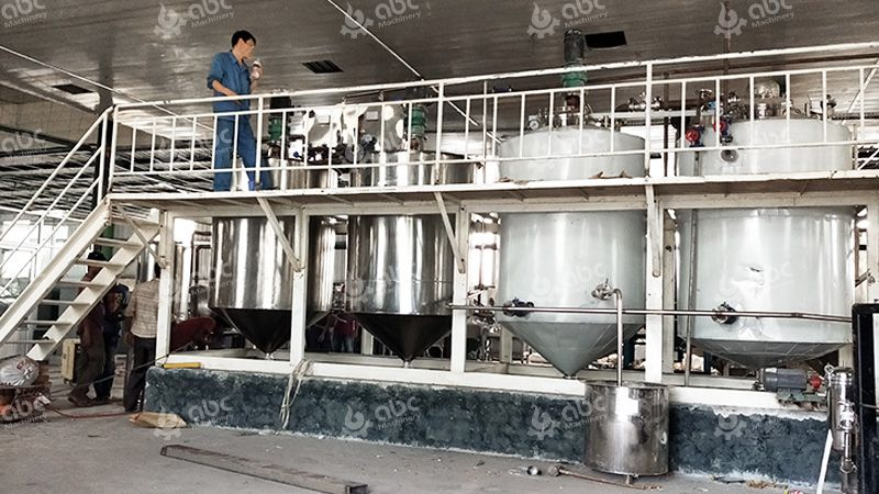 Mini Fish Oil Refinery Plant