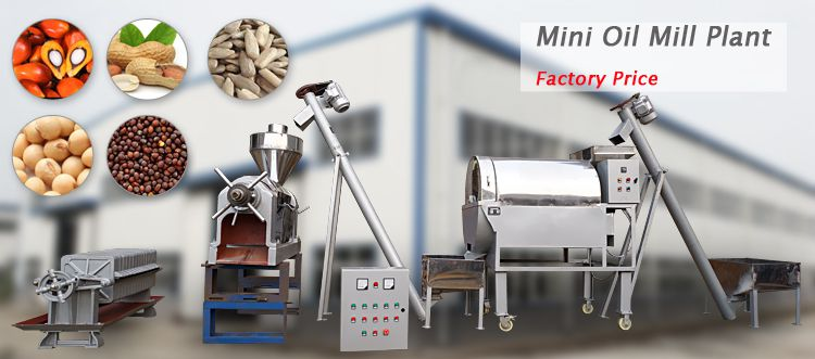 mini oil mill plant at factory price