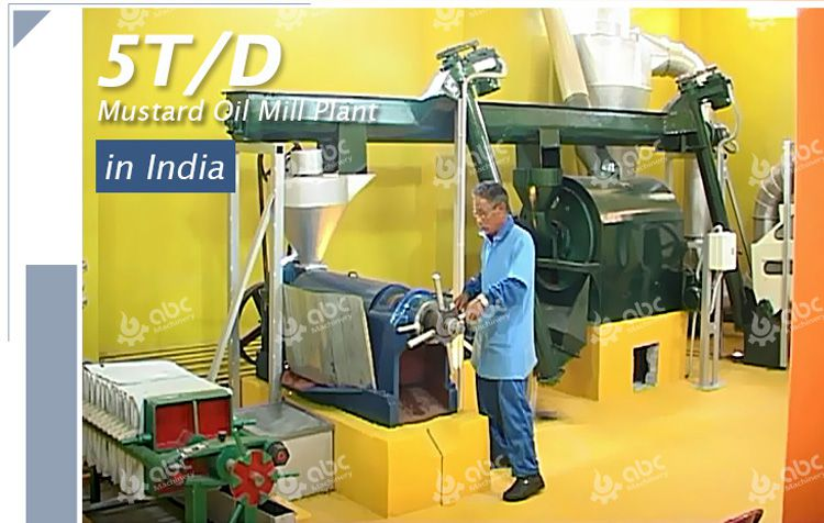 mini rapeseed oil production line