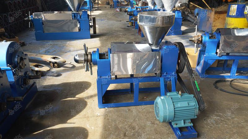 mini size oil press machine