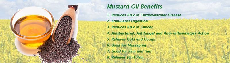 great mustard oil benefts for best business
