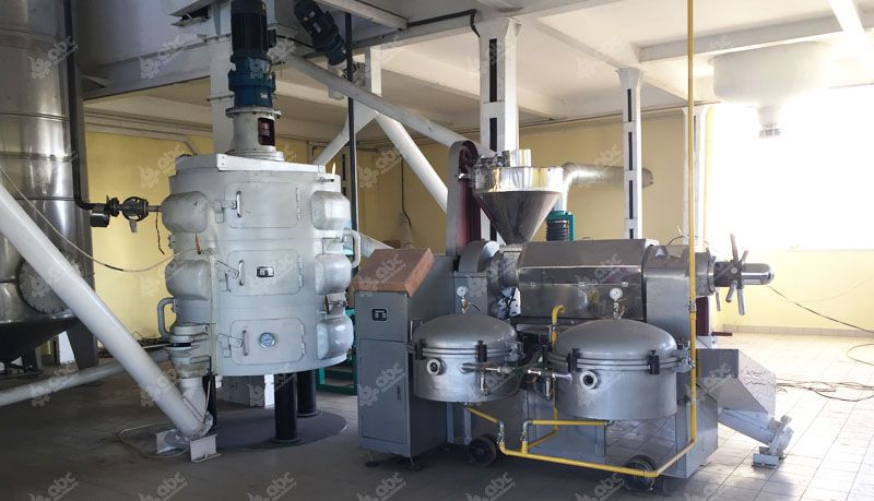 automatic oil machine in oil mill plant