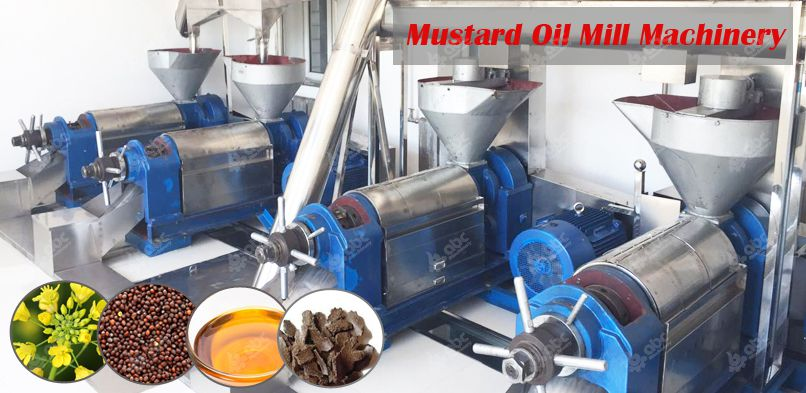 mustard oil mill machinery plant at low cost