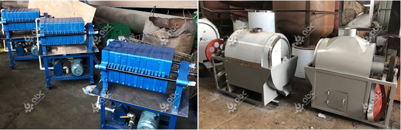 oil filter machine and seeds cooking machine