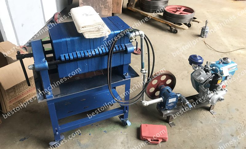 oil filter machine to Nigeria