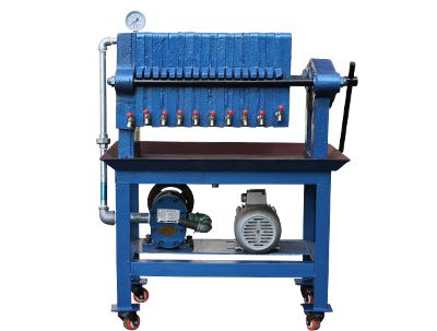 mini oil filter machine