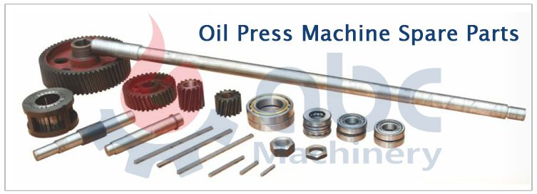 oil press machine spare parts for sales