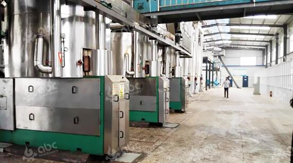 Oil Processing Plant for Commercial Business