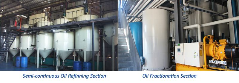 palm kernel oil refinery and fractionation plant setup in Nigeria