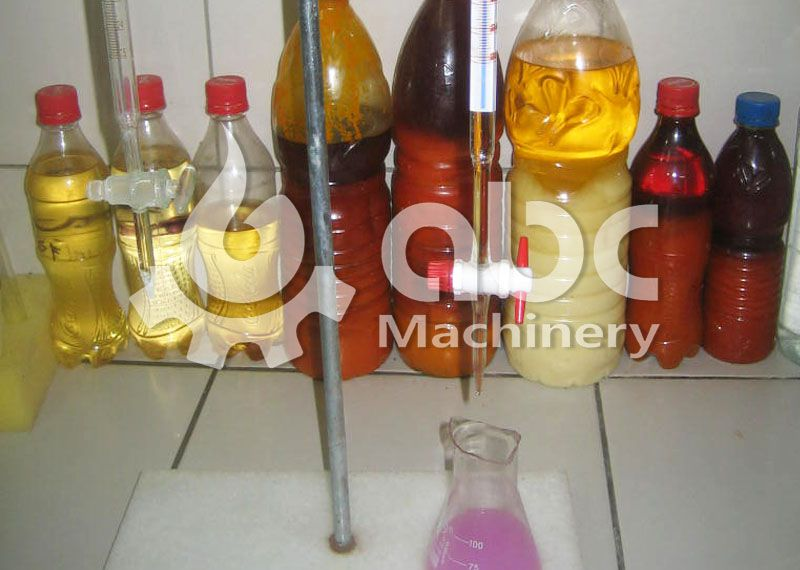 palm oil fractionation test